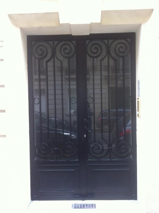 porte en fer forg style classique le grand catalogue porte en fer forg portail en fer