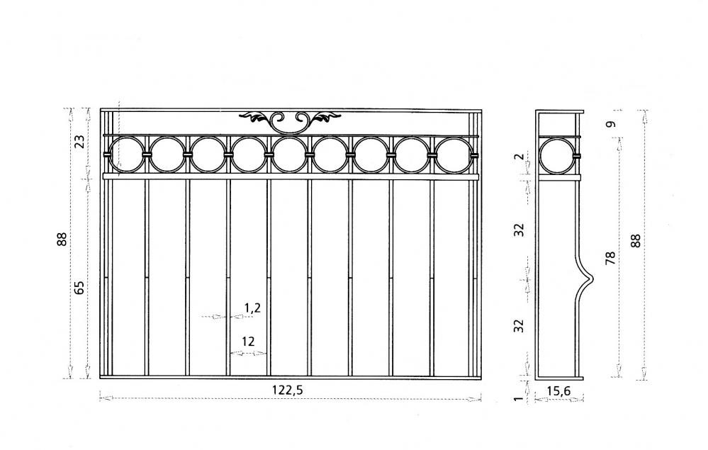Grille de fen tre ghe grille de fen tre en fer forg style classique le grand catalogue for Design fer forge fenetre