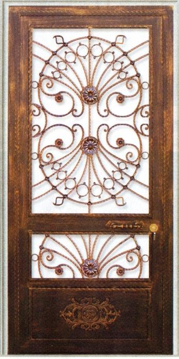 Porte en fer forg b r nice porte en fer forg style classique le grand catalogue porte for Prix porte en fer forge