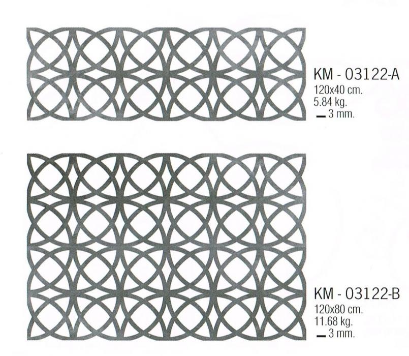 Très Motifs en découpe laser, modèle 2013 KM 03122 - Métal découpé au  NC85